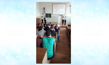 Члены клуба «Патриот» провели для студентов 1-3 курса мероприятие, посвящённое 31-й годовщине вывода советских войск из Афганистана