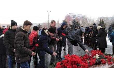 Митинг, посвящённый выводу советских войск из Афганистана.