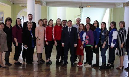 20  марта на площадке ВГСПУ состоялась рабочая встреча губернатора Андрея Бочарова с активом волонтерских организаций Волгоградской области