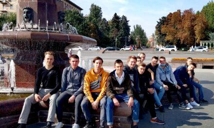 Студенты исторического клуба «Клио» изучали Набережную Волгограда