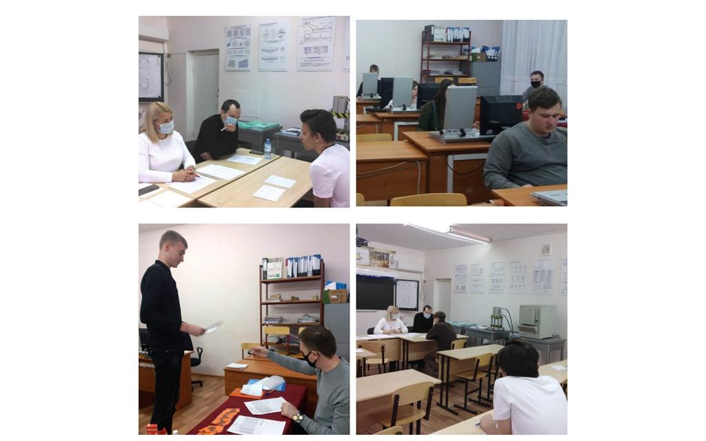 Студенты специальности ОМД в рамках промежуточной аттестации сдали экзамены по дисциплинам профессионального цикла