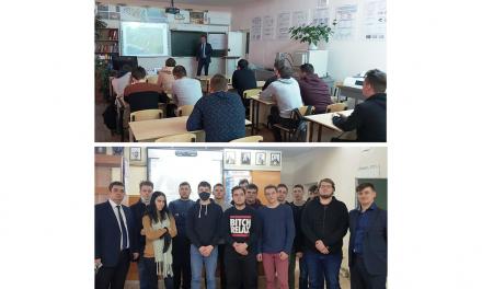 Специалисты Волжского трубного завода участвуют в обучении студентов